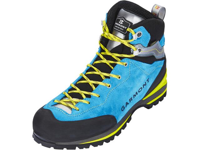 Klettersteig Set Campz : Garmont ascent gtx shoes men aqua blue light grey campz.de